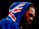 Game over: Audley Harrison has retired from boxing after his defeat to Deontay Wilder last weekend