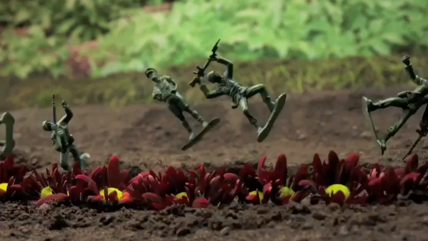 Channel 4′s – 'Random Act's' introduces 'Toy Soldiers' a 3 minute film.