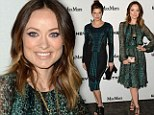 Colour coordinated! Olivia Wilde and Lake Belle glimmer in emerald frocks at Whitney Museum bash