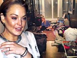 It's not a fashion show! Lindsay Lohan packs '270 looks' for 90 day rehab stay... which could fall through as actress 'refuses to give up cigarettes'