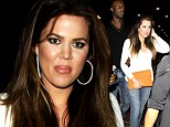 Time for showing off! Khloe Kardashian squeezes newly-slim figure into skinny jeans on date night with Lamar Odom