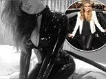 Carmen Electra has teased with a PVC outfit