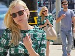 Diane Kruger and Joshua Jackson wedding dress shopping in Los Angeles on Wednesday
