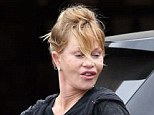 Let's hope the wind doesn't change! Melanie Griffith pouted her way through a trip to the local garden store in Los Angeles on Tuesday