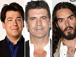 Average man thinks he's more attractive than Simon Cowell, Russell Brand, James Corden and five of his friends (and 25% say they're better looking than their partner)