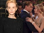 Carey Mulligan's steamy audition kiss with Leo DiCaprio saw her beat Blake Lively, Natalie Portman and Michelle Williams to the role of Daisy in The Great Gatsby