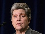 WASHINGTON, DC - APRIL 24: Homeland Security Secretary Janet Napolitano