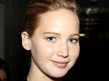 Natural woman: Jennifer Lawrence wore minimal make-up to show off her flawless complexion at The Great Gatsby premiere in New York on Wednesday night