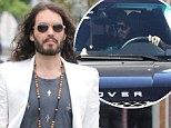 Russell Brand to fight $550k lawsuit in court as he's sued by security guard for 'running him over'