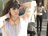 Ali Lohan posed for the cameras in NYC on Tuesday.