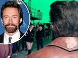 FIRST LOOK: Hugh Jackman is back to his Wolverine best as director reveals a sneak peak of the star on the X-Men: Days Of Future Past set