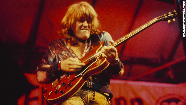 "Alvin Lee, the speed-fingered British guitarist who lit up Woodstock with a monumental 11-minute version of his song ""I'm Going Home,"" died on March 6, according to his website. He was 68."