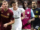 Weekend starters: Manchester City, Tottenham, Aston Villa and Wigan are in action