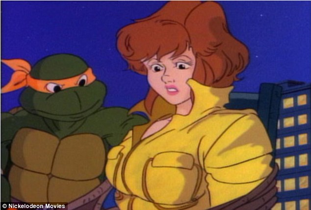 Big jumpsuit to fill: Megan will soon hit the New York set to play comic book favourite April O'Neil, famed for her red hair and yellow jumpsuit