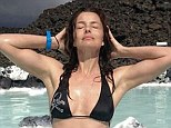 If you've got it, flaunt it: Paulina Porizkova, the 48-year-old supermodel who rose to fame as a Sports Illustrated cover girl in the early Eighties, showed off her impeccable genes earlier this morning with a revealing bikini shot