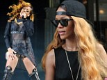 Learning her lesson! Rihanna turns up 'on time' for New York show day after making fans wait THREE HOURS in Boston