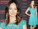 Olivia Wilde and television personality Louise Roe at the CARRERA hosted retrospective exhibition and exclusive reception to debut their new eyewear collection, held at 5 Beekman near City Hall in NYC