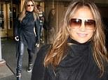 She'll always be Jenny From The Block! J-Lo slips back into her Bronx alter ego in leather trousers and high-tops to release new single Live It Up