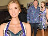 She's got that pregnancy glow: Ivanka Trump looks radiant in flirty frock as she displays just a hint of her baby bump