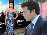 And the Best Supporting Boyfriend award goes to... Henry Cavill stays low-key as he joins girlfriend Gina Carano at Fast And Furious 6 premiere