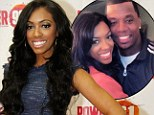 Desperate housewife: Porsha Williams, left, and husband Kordell Stewart, right, reportedly created a fake divorce to secure her spot on The Real Housewives of Atlanta