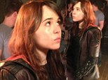 FIRST LOOK: Ellen Page is ready to make her stand as Kitty Pryde on set of X-Men: Days Of Future Past