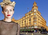 Haunted house: Miley Cyrus had a scary experience in London