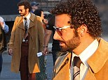 The curls are back: Bradley Cooper returns to his perm as he resumes filming American Hustle after Boston attacks