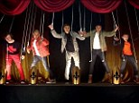 They're N*Sync: The Wanted perform as puppets, like in the famous N*Sync video for Bye Bye Bye