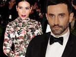 'She's the most beautiful pregnant woman I dressed in my career': Givenchy designer Riccardo Tisci defends Kim Kardashian's 'maternity' Met Gala gown