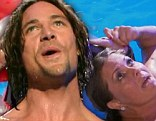 Rory Bushfield won Splash on Tuesday night after Nicole Egegrt landed on her back