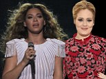 'What a wonderful beyday': Adele marks 25th birthday by going to see Beyonce concert with Robbie Williams and Alan Carr
