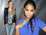 Two routes to sexy! Shakira complements her post-baby body in boyfriend jeans while Christina Milian dons a skintight dress at The Voice party