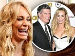 Loved up: Taylor Armstrong and John Bluher, shown at a pre-Oscar event in February, have moved from a professional to a personal relationship