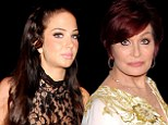 Tulisa and Sharon Osbourne
