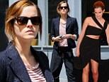 'Harry Potter' actress Emma Watson shops in New York City, New York.