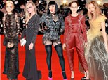 From knicker-flashing to tartan shorts, studs to side-boobs, these were fashion's finest on their big night out.