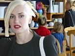Gwen Stefani and her kids were spotted painting pottery at Color Me Mine on Wednesday