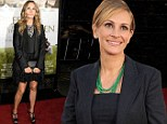 Runaway bridesmaid: Julia Roberts accused 'of causing family feud after refusing to be part of half sister's wedding because she doesn't approve of groom'