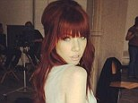 Red alert! Carly Rae Jepsen debuted her new red hair colour via her Twitter account on Tuesday, after ditching the black