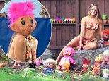 Woman obsessed with troll dolls on My Crazy