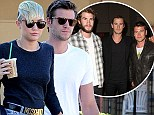'They want him to end the romance for good': Liam Hemsworth's brothers Chris and Luke 'stage intervention to convince actor to split with Miley Cyrus'