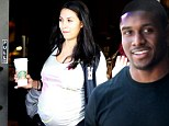 It's a girl for Kim Kardashian's ex Reggie Bush as NFL star's fiancée Lilit Avagyan gives birth