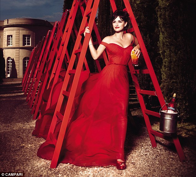 A spot of gardening: Don't try to trim the hedge in a ballgown at home, especially with alcoholic drink in hand