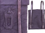 Scary leather backpack features screaming FACE sculpted into it (but what's more shocking, the bag or its $957 price tag?)