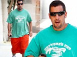 Adam Sandler looks like he may be packing on the pounds