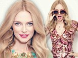 'I dodged a bullet!' Heather Graham, 43, dishes on not marrying any of her famous Hollywood exes as she poses in playful photo shoot