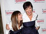 Best friends forever: Kris Jenner and her buddy of 30 years Shelli wore matching outfits to the We Are Better Than This Brady Center to prevent gun violence gala dinner held at Beverly Hills Hotel on Tuesday