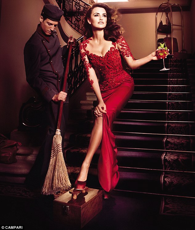 Swept away: This shoe shine chappie might need better tools but there are no flies on Penelope in this stunning image