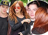 So what do we have here? Nicholas Hoult spotted with Riley Keough just hours after partying together the night before